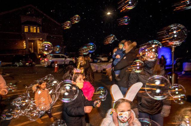 Purim Bubbles